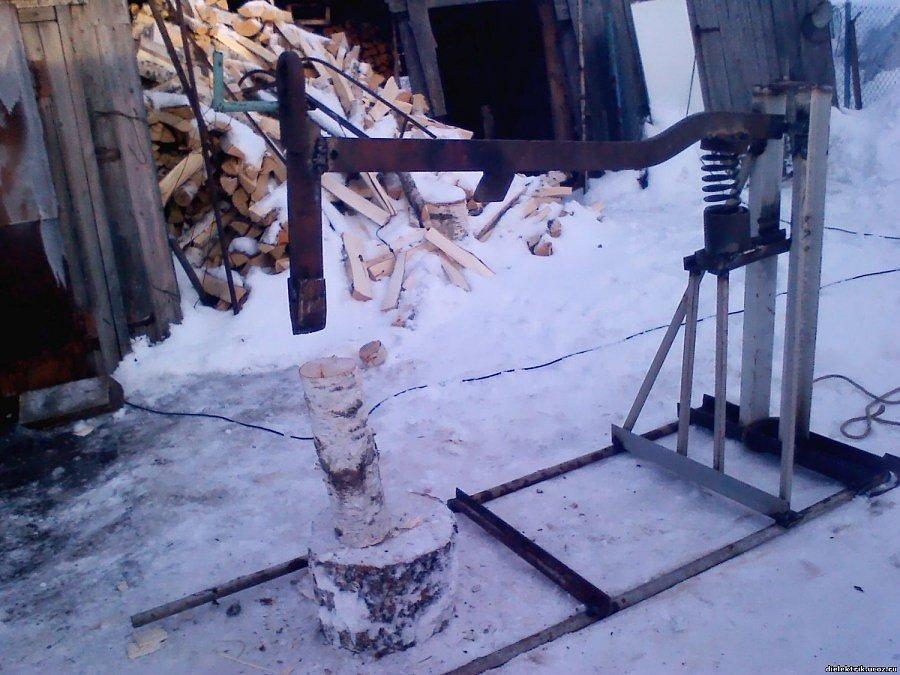 помещений фото колунов для дров сделанные своими руками при виде