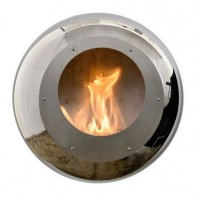 Биокамин Cocoon Fires Vellum Wall Mounted Cocoon Stainless