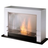 Биокамин EcoSmart Fire Oxygen Black/White satin