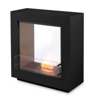 Биокамин Ecosmart Fire Fusion Black/White satin